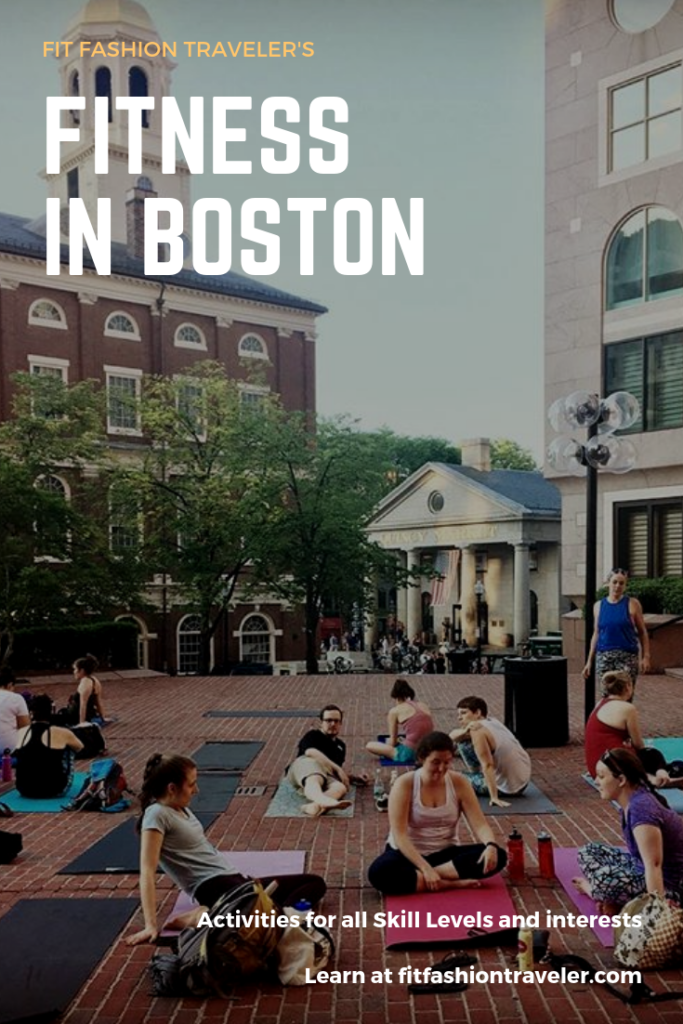 Fitness Recommendations in Boston, Massachusetts