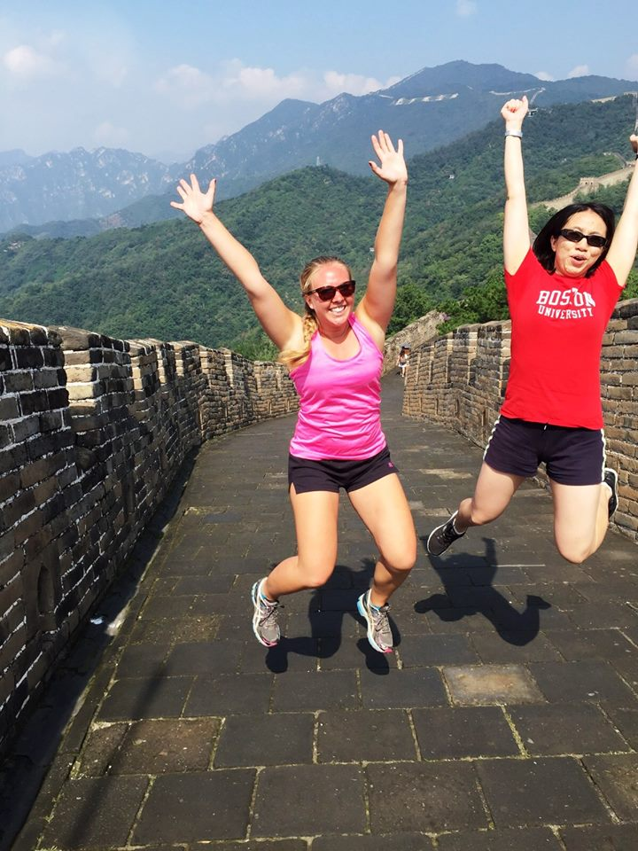 Jumping Great Wall