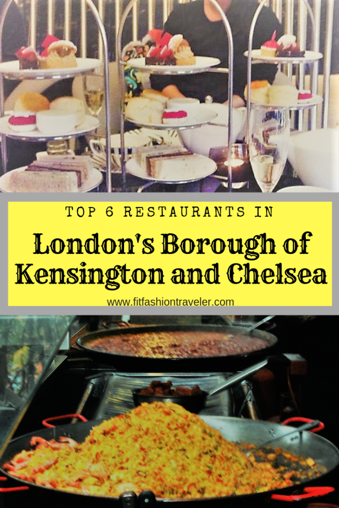 Top 6 Restaurants In London's Royal Borough of Kensington and Chelsea
