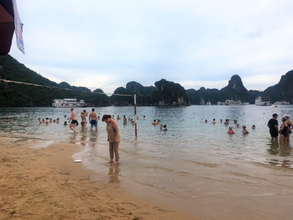 Ti Top, Titop, beach, Halong Bay, Ha Long Bay, Vietnam, swimming