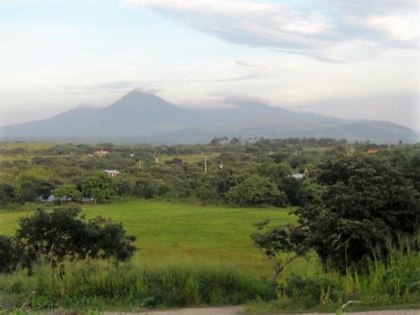 costa rica, volcano, landscape, plains