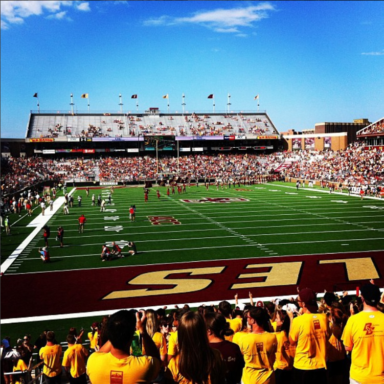 boston college; football; boston