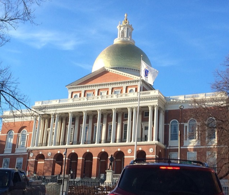 state house; boston; history