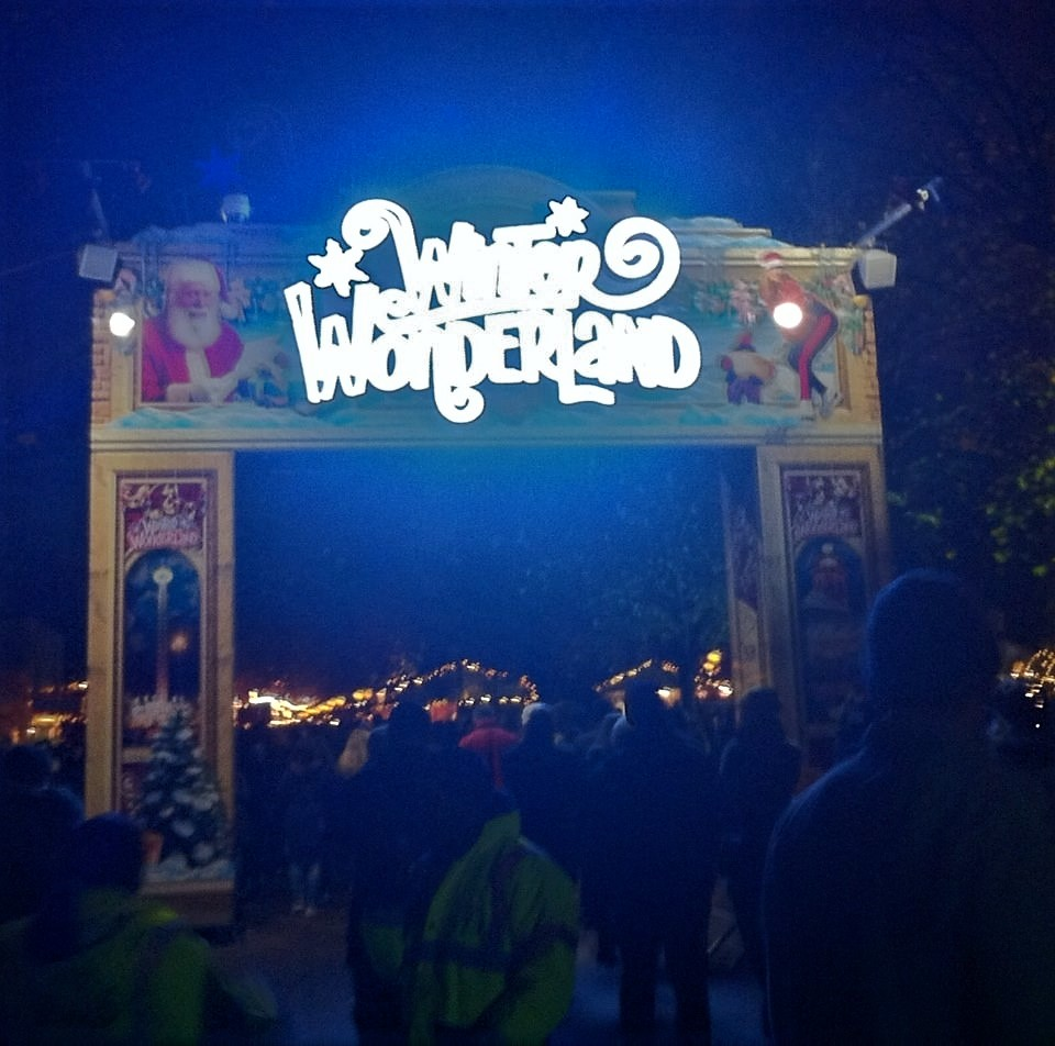winter wonderland; hyde park; london; christmas
