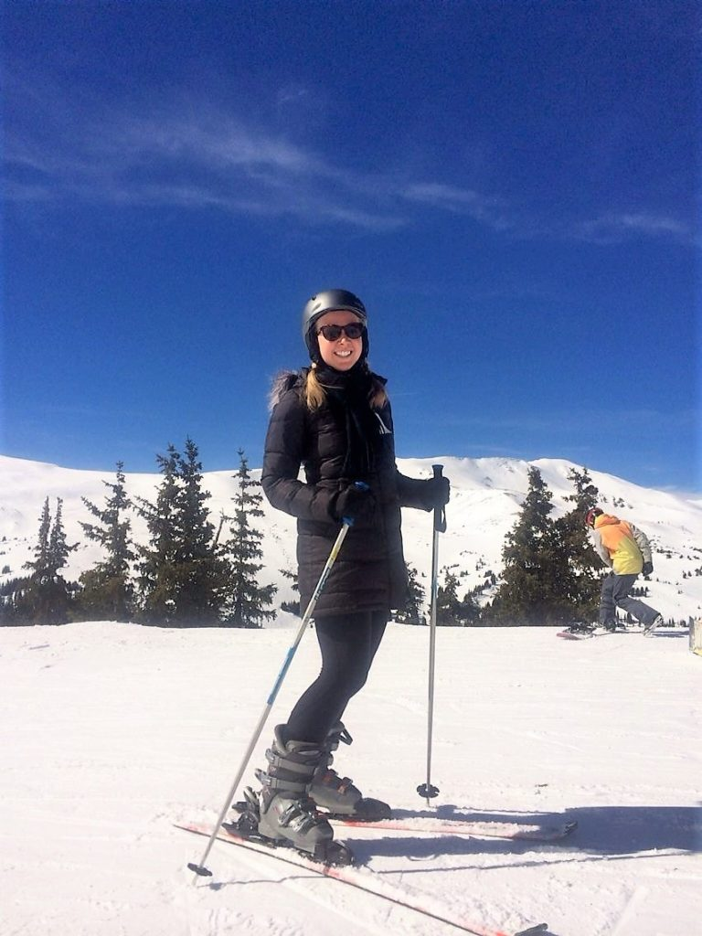 Skiing at Loveland Ski Area; what to do in denver in the winter; denver; winter; rocky mountains