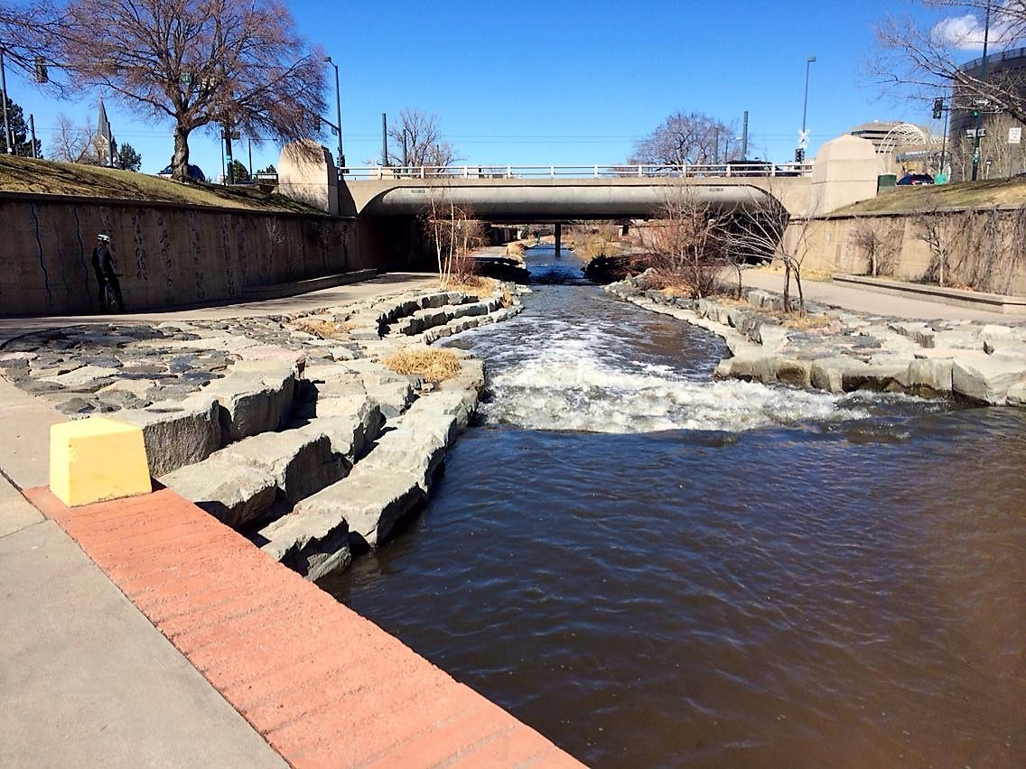 what to do in denver in the spring; bike ride; biking; nature ride; cherry creek trail; cherry creek river