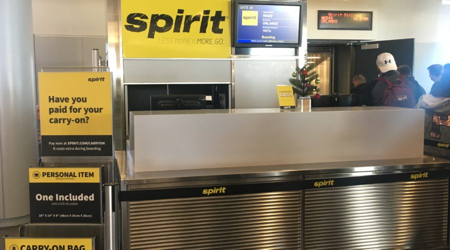 spirit air; spirit airlines; review; airline review; budget airline; ultra low cost airline