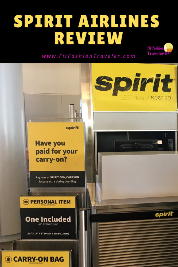 My first experience flying with Spirit Airlines, a low-cost American airline